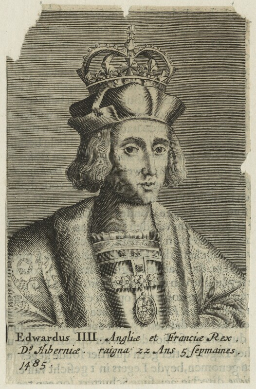 King Edward IV, after Unknown artist, probably 17th century - NPG D23801 - © National Portrait Gallery, London