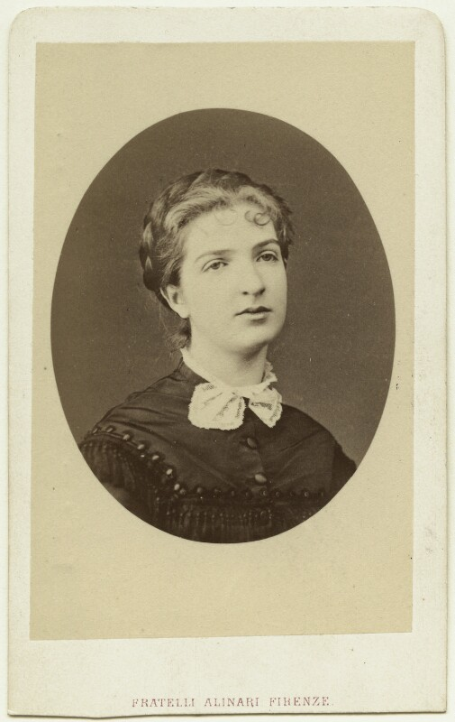 Margherita, Queen of Italy, by Fratelli Alinari, 1870s - NPG x74432 - © National Portrait Gallery, London