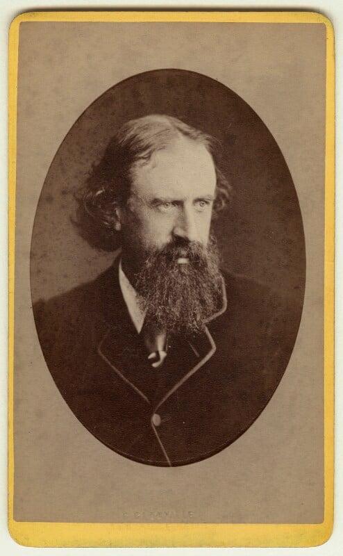Sir Leslie Stephen, by George Glanville, circa 1870 - NPG x18074 - © National Portrait Gallery, London