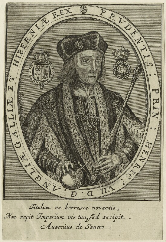 King Henry VII, after Unknown artist, perhaps 17th century - NPG D23823 - © National Portrait Gallery, London