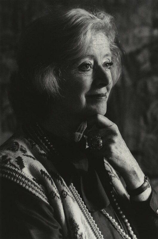 Evelyn Anthony (Evelyn Bridget Patricia Ward-Thomas (née Stephens)), by Tara Heinemann, 1981 - NPG x30982 - © Tara Heinemann