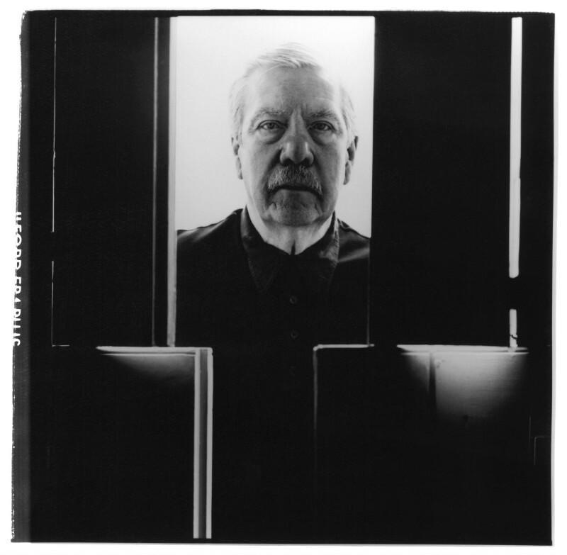 Derek Macdonald Cooper, by Barry Marsden, 1998 - NPG P718(8) - © National Portrait Gallery, London
