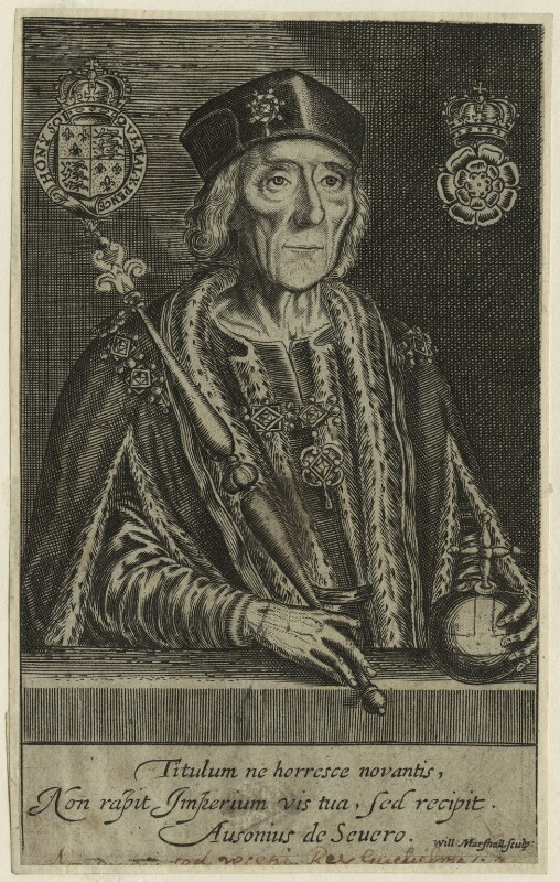 King Henry VII, by William Marshall, probably 17th century - NPG D23826 - © National Portrait Gallery, London