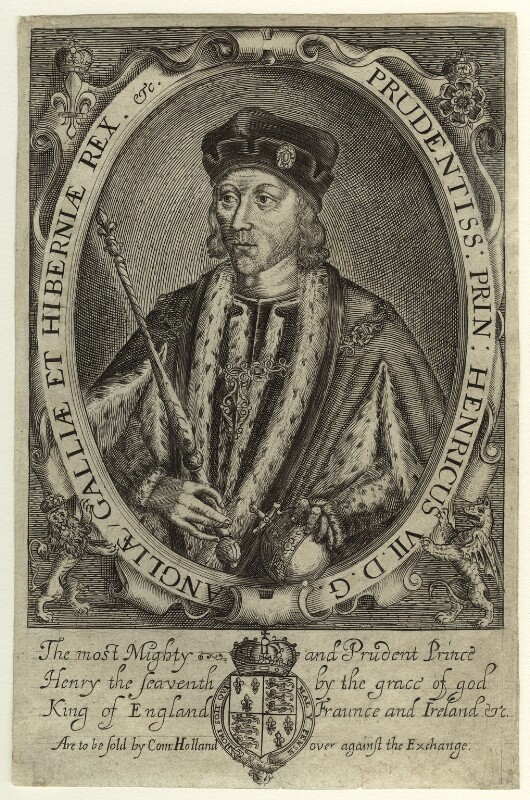 King Henry VII, possibly by Renold or Reginold Elstrack (Elstracke), 1618 - NPG D23827 - © National Portrait Gallery, London