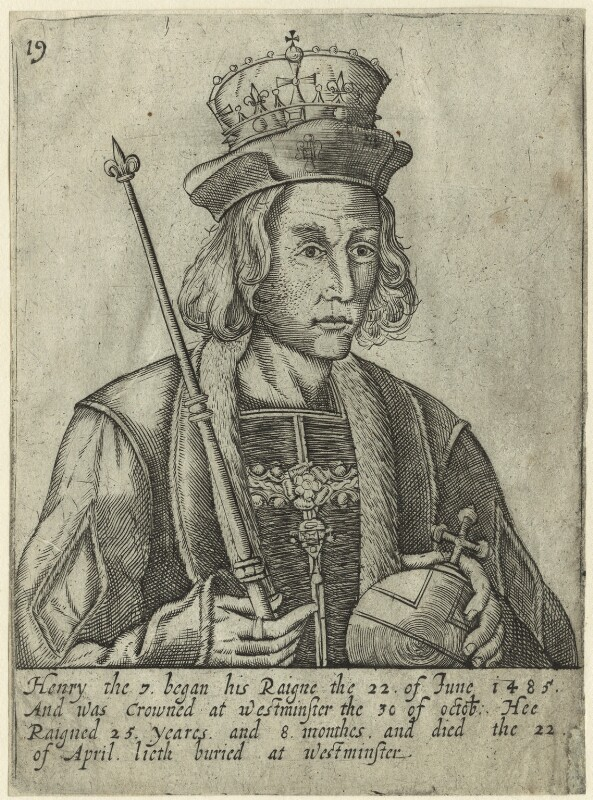 King Henry VII, after Unknown artist, probably 17th century - NPG D23829 - © National Portrait Gallery, London