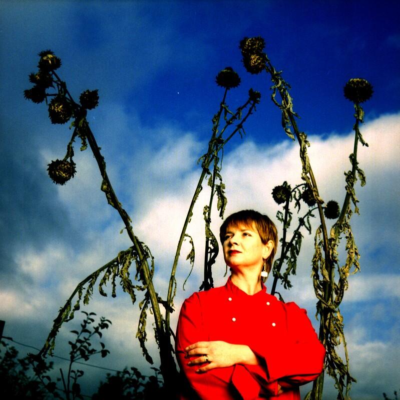 Sophie Grigson, by Barry Marsden, 6 November 1998 - NPG P718(11) - © National Portrait Gallery, London