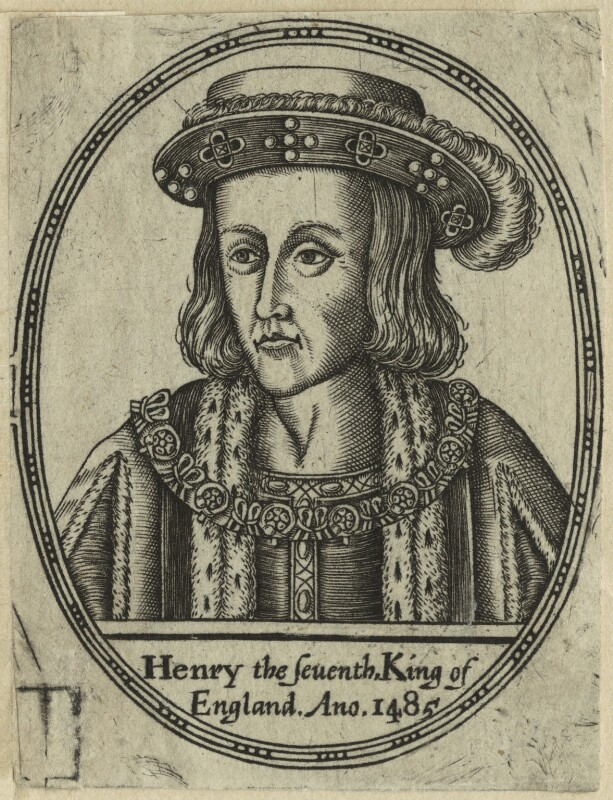 King Henry VII, after Unknown artist, probably 17th century - NPG D23838 - © National Portrait Gallery, London