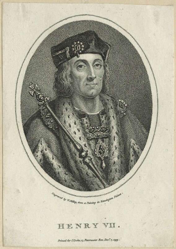 King Henry VII, after Unknown artist, probably 17th century - NPG D23848 - © National Portrait Gallery, London