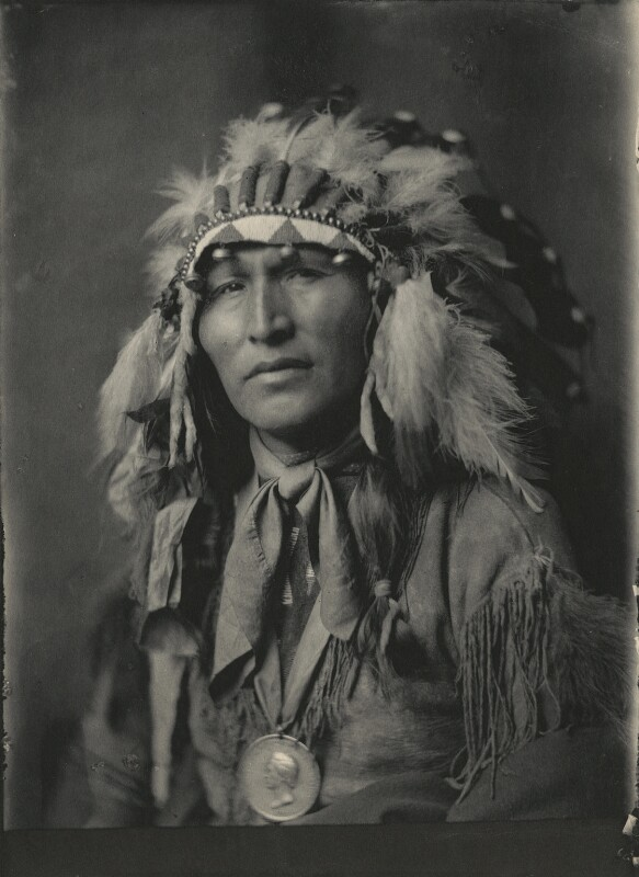 Native American Chief, by Cavendish Morton, 1903 - NPG x128850 - © National Portrait Gallery, London