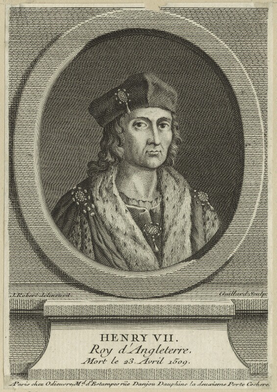 King Henry VII, by Gaillard, after  J. Robert, probably 18th century - NPG D23850 - © National Portrait Gallery, London