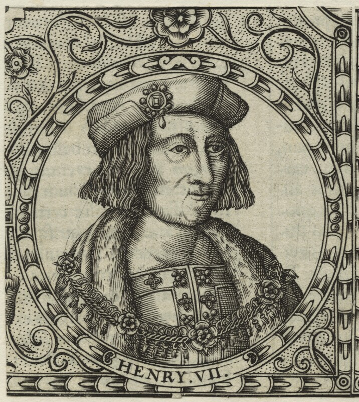 King Henry VII, by Jodocus Hondius, 1610 - NPG D23858 - © National Portrait Gallery, London