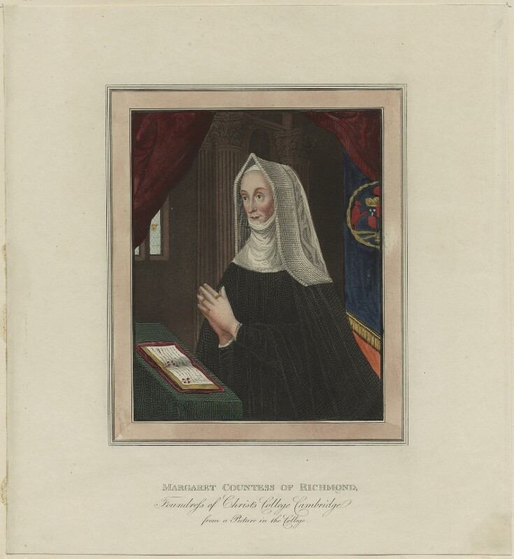 Lady Margaret Beaufort, Countess of Richmond and Derby, after Unknown artist, late 18th century - NPG D23874 - © National Portrait Gallery, London
