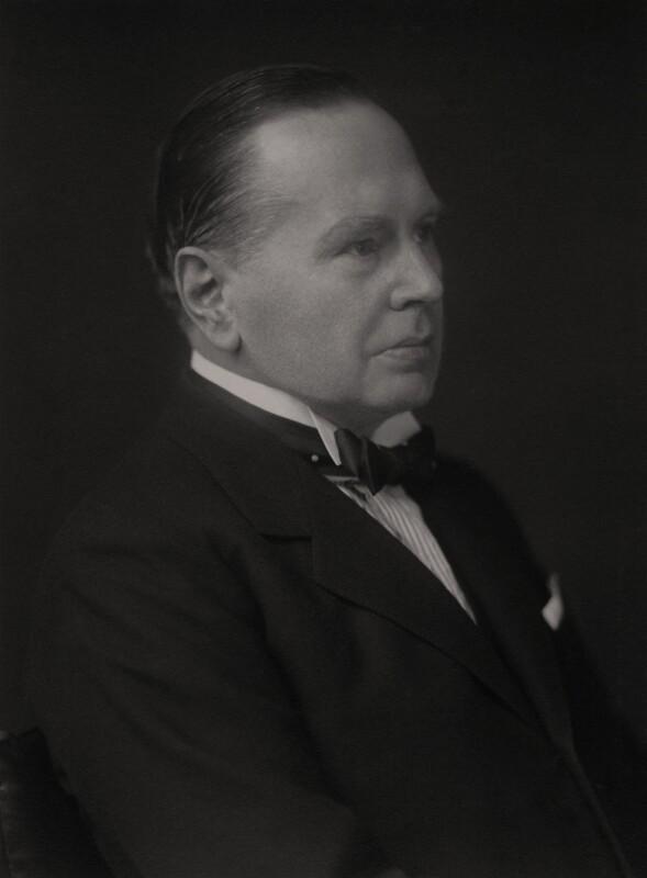 Sir William Dingwall Mitchell Cotts, by Walter Stoneman, 1930 - NPG x166764 - © National Portrait Gallery, London