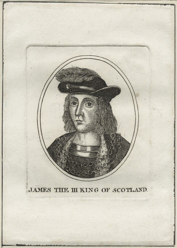 King James III of Scotland, after Unknown artist, late 18th century - NPG D23900 - © National Portrait Gallery, London