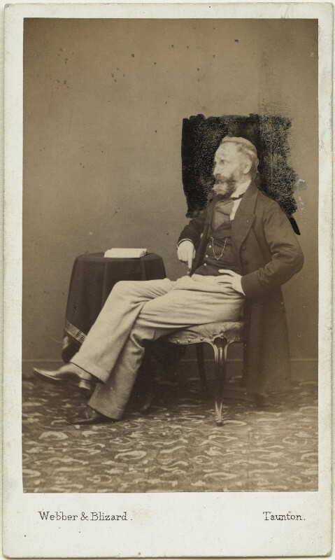 Alexander William Kinglake, by Webber & Blizard, after  John Webber, 1863 - NPG x19148 - © National Portrait Gallery, London