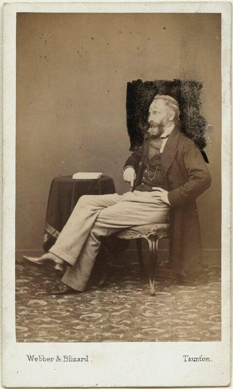 Alexander William Kinglake, by Webber & Blizard, after  John Webber, 1863 - NPG x19148 - © National Portrait Gallery, London