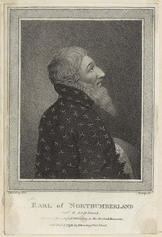 Henry Percy, Earl of Northumberland, by R. Clamp, published by  Edward Harding, after  Silvester (Sylvester) Harding, published 1792 - NPG D23926 - © National Portrait Gallery, London