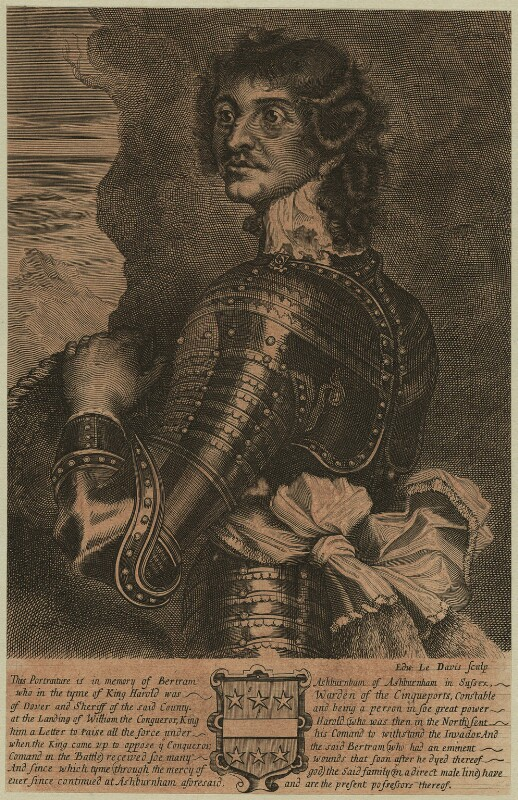 Richard Neville, 16th Earl of Warwick and 6th Salisbury, by Edward Davis (Le Davis), probably 17th century - NPG D23932 - © National Portrait Gallery, London