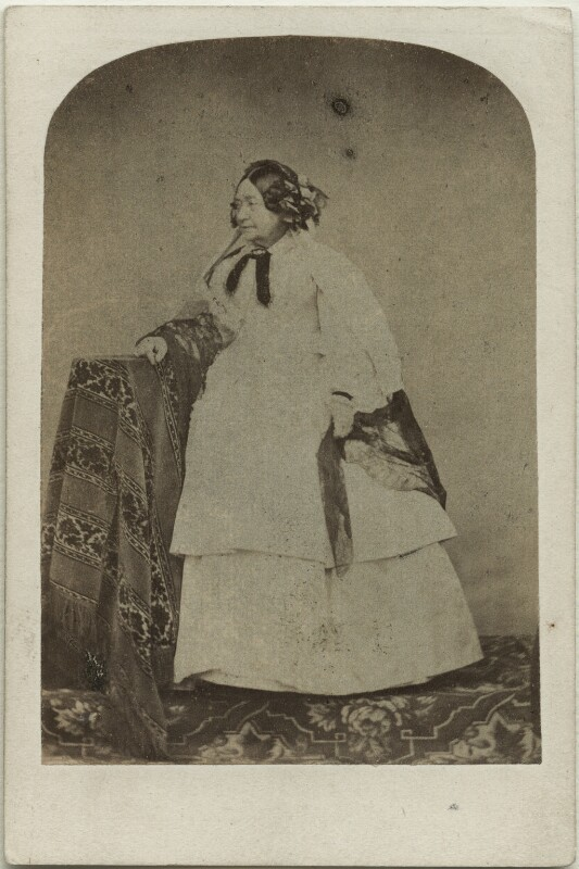 Princess Victoria, Duchess of Kent and Strathearn, by Messrs Day, circa 1860 - NPG x12101 - © National Portrait Gallery, London
