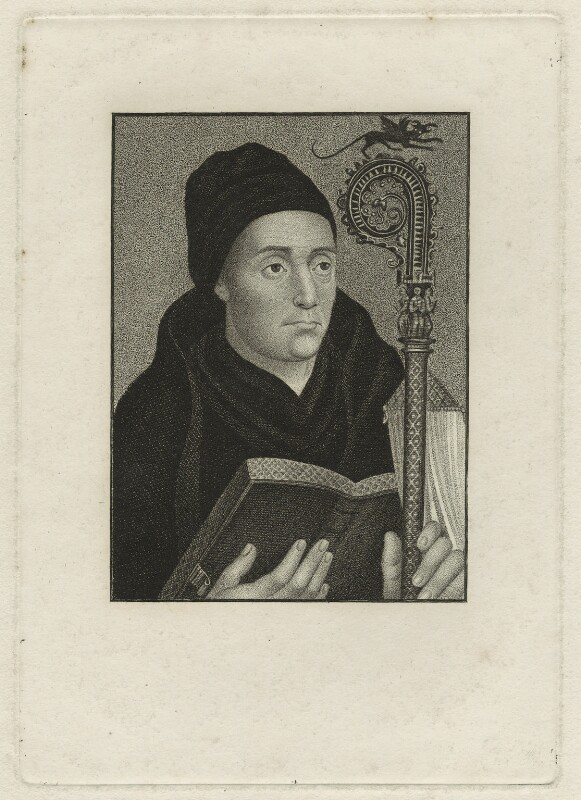 St Dunstan, after Unknown artist, possibly early 19th century - NPG D23945 - © National Portrait Gallery, London