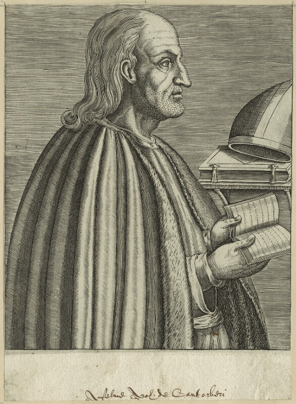 St Anselm, after Unknown artist, late 16th century - NPG D23949 - © National Portrait Gallery, London