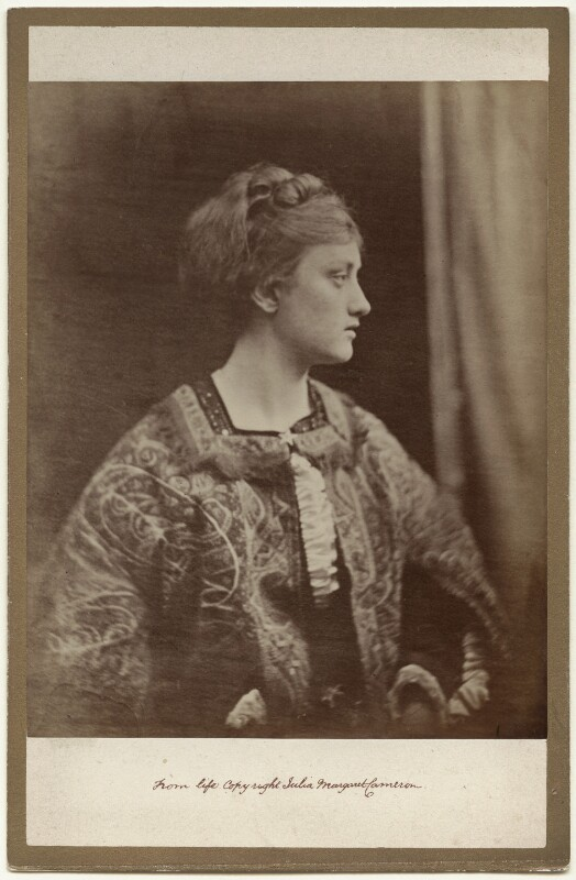 May Prinsep, by Julia Margaret Cameron, 1870 - NPG x18062 - © National Portrait Gallery, London