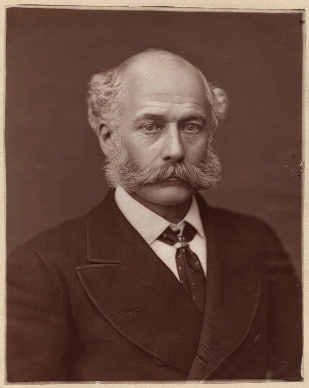Sir Joseph William Bazalgette, by Lock & Whitfield, 1877 or before - NPG x646 - © National Portrait Gallery, London