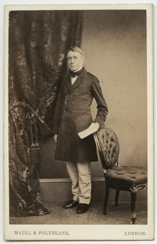 Sir George Biddell Airy, by Maull & Polyblank, 1860-1865 - NPG x22 - © National Portrait Gallery, London