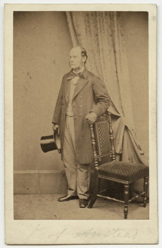 David Thomas Ansted, by Maull & Polyblank, early-mid 1860s - NPG x90 - © National Portrait Gallery, London