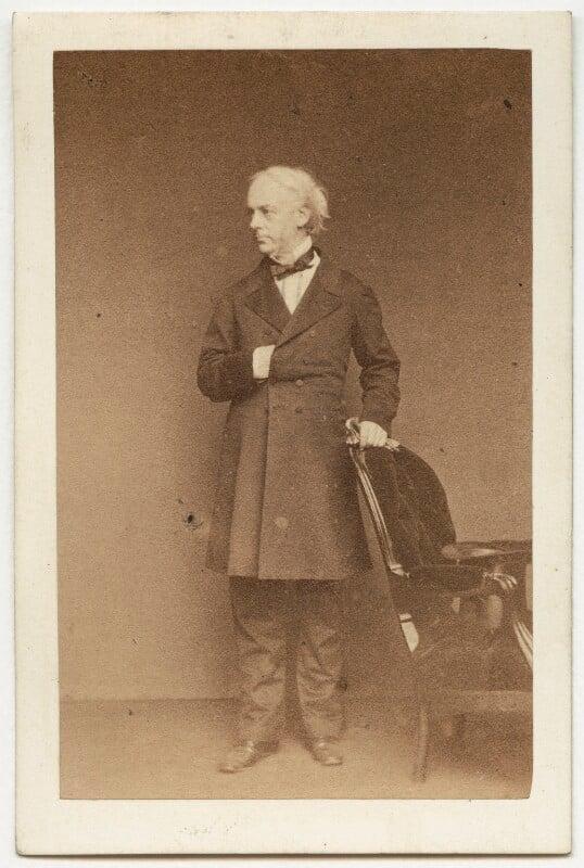 Sir William Atherton, by John & Charles Watkins, 1860s - NPG x25260 - © National Portrait Gallery, London
