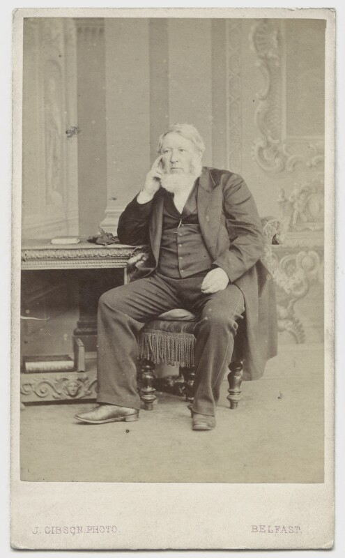 William Arnot, by John Gibson, 1860s - NPG x108 - © National Portrait Gallery, London