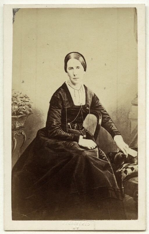 Angela Burdett-Coutts, Baroness Burdett-Coutts, by and after Peter Paul Skeolan, 1868 - NPG x76002 - © National Portrait Gallery, London
