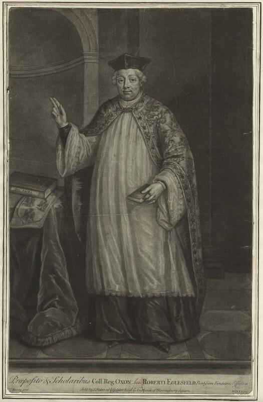 Robert Eglesfield, by John Faber Jr, after  Thomas Murray, 1724 - NPG D23999 - © National Portrait Gallery, London