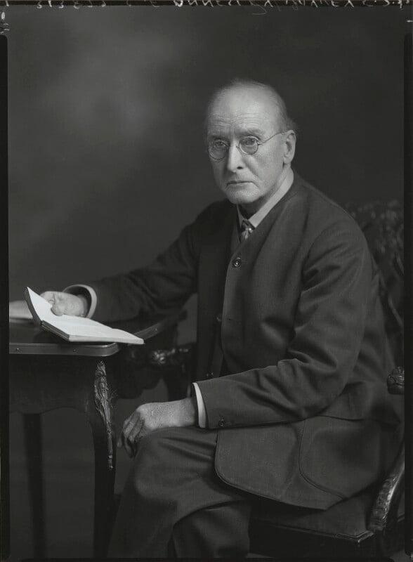 Charles Francis Annesley Voysey, by Lafayette (Lafayette Ltd), 5 July 1932 - NPG x48251 - © National Portrait Gallery, London