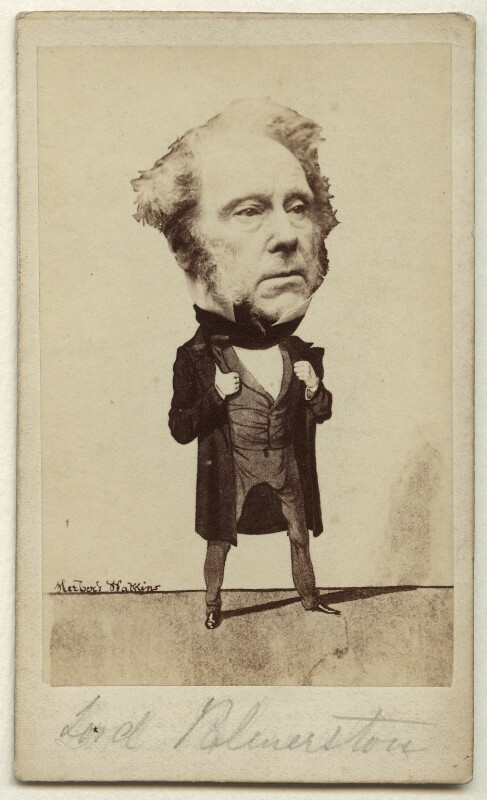 Henry John Temple, 3rd Viscount Palmerston, by and after (George) Herbert Watkins, late 1850s (30 March 1857) - NPG x11979 - © National Portrait Gallery, London