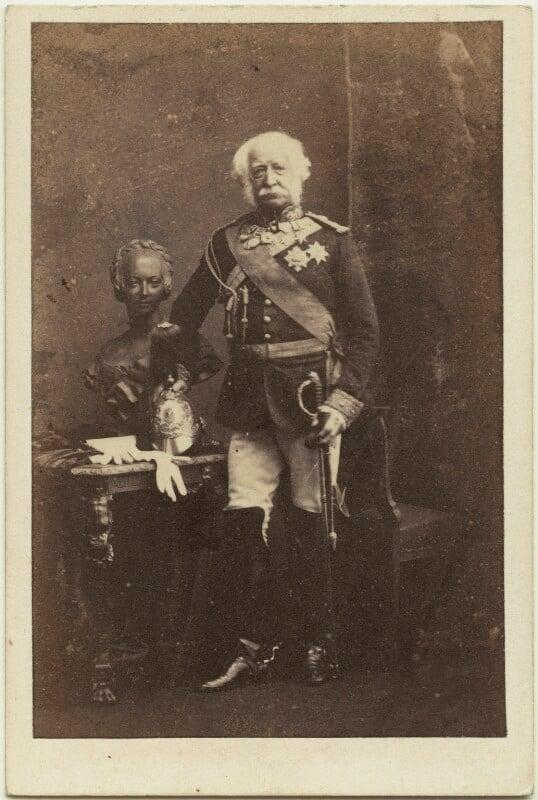 Hugh Gough, 1st Viscount Gough, by Camille Silvy, 5 February 1861 - NPG x45081 - © National Portrait Gallery, London