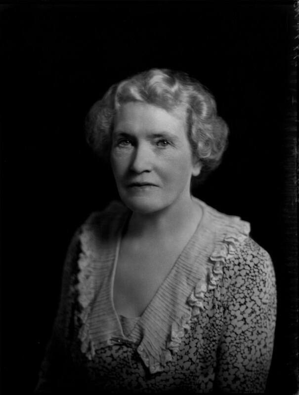 Violet Ellen Jessie (née Lewis), Lady Argyle, by Bassano Ltd, 1 July 1935 - NPG x151482 - © National Portrait Gallery, London