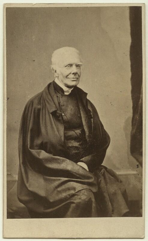 John Keble, by Robert Hawker Peniel Preston, mid 1860s - NPG x18969 - © National Portrait Gallery, London