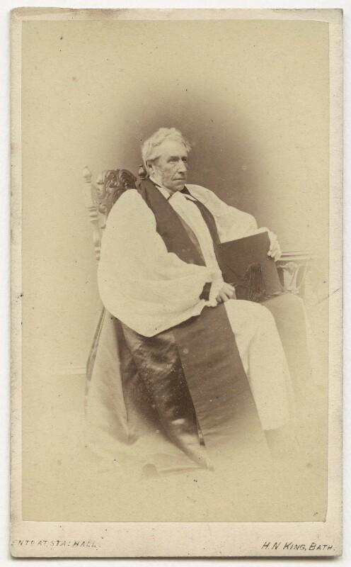 Robert John Eden, 3rd Baron Auckland, by Horatio Nelson King, 1860s - NPG x36429 - © National Portrait Gallery, London