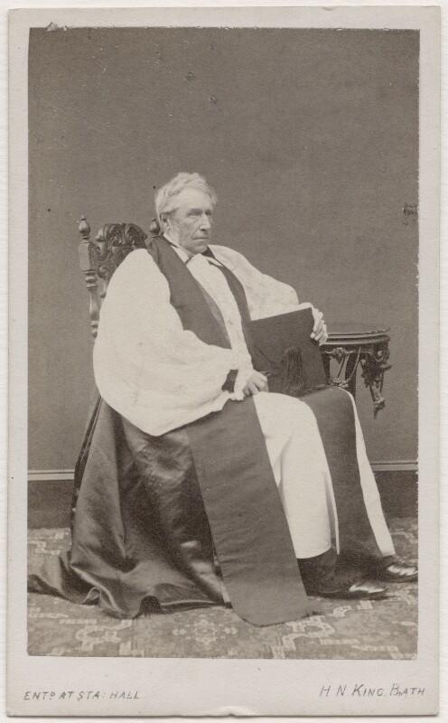 Robert John Eden, 3rd Baron Auckland, by Horatio Nelson King, 1860s - NPG Ax7472 - © National Portrait Gallery, London