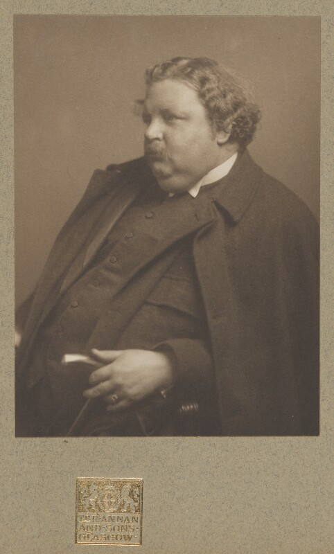 G.K. Chesterton, by James Craig Annan, 1912 - NPG P1129 - © National Portrait Gallery, London