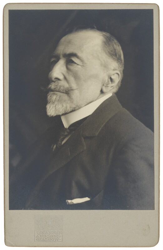Joseph Conrad, by James Craig Annan, 1923 - NPG P1130 - © National Portrait Gallery, London