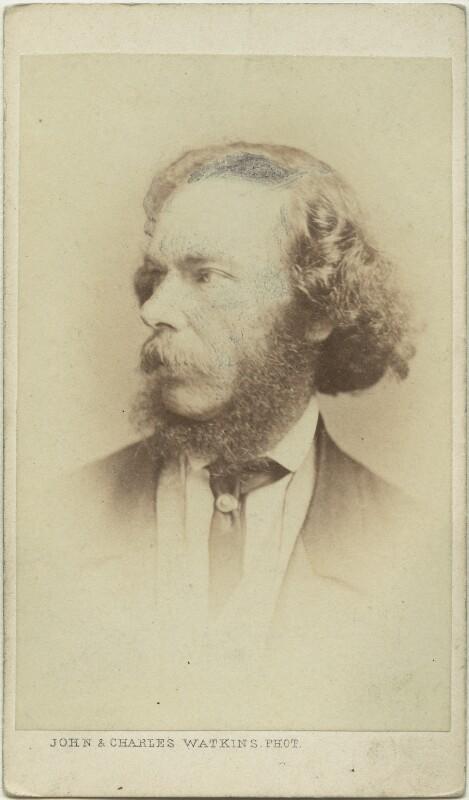 George Henry Lewes, by John & Charles Watkins, circa 1864 - NPG x12438 - © National Portrait Gallery, London