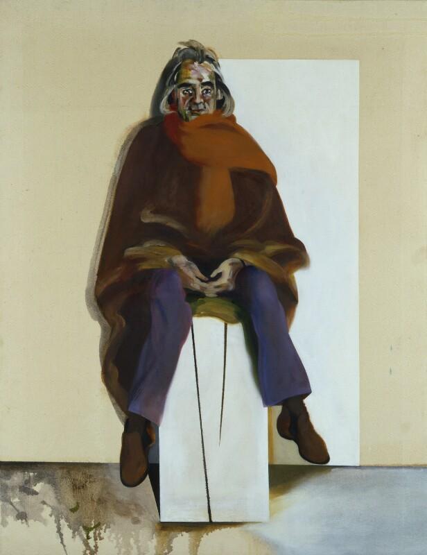 Victor Musgrave, by Maggi Hambling, 1977 - NPG 6816 - © Maggi Hambling