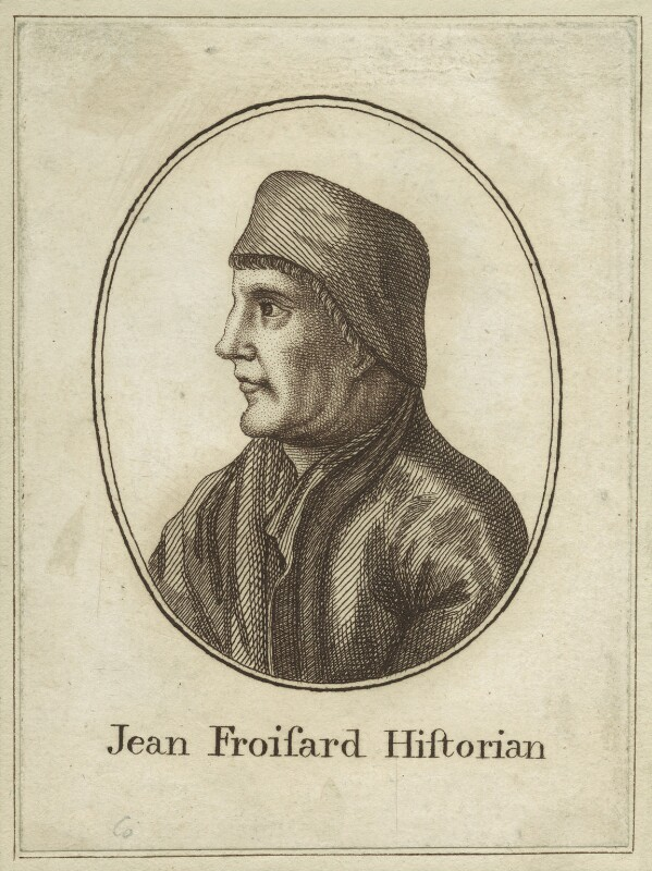Jean Froissart, after Unknown artist, late 18th century - NPG D24139 - © National Portrait Gallery, London