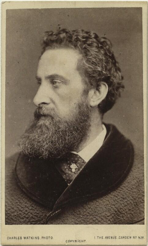 Edward Robert Bulwer-Lytton, 1st Earl of Lytton, by (Octavius) Charles Watkins, 1876 - NPG x19936 - © National Portrait Gallery, London