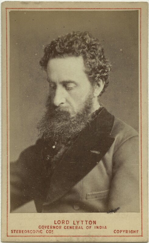 Edward Robert Bulwer-Lytton, 1st Earl of Lytton, by London Stereoscopic & Photographic Company, 1876 - NPG x17069 - © National Portrait Gallery, London