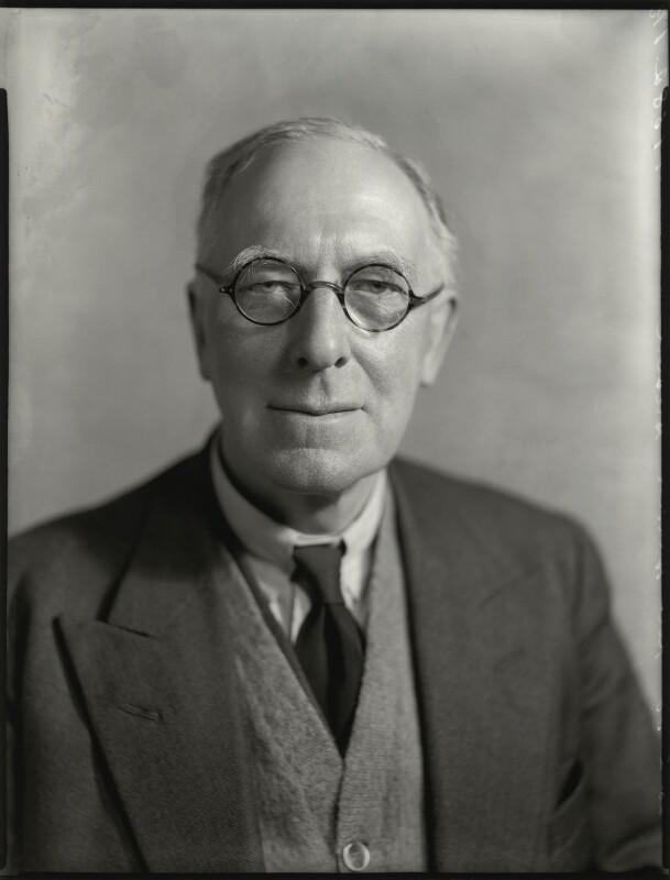 Harold Anson, by Bassano Ltd, 28 February 1935 - NPG x151559 - © National Portrait Gallery, London