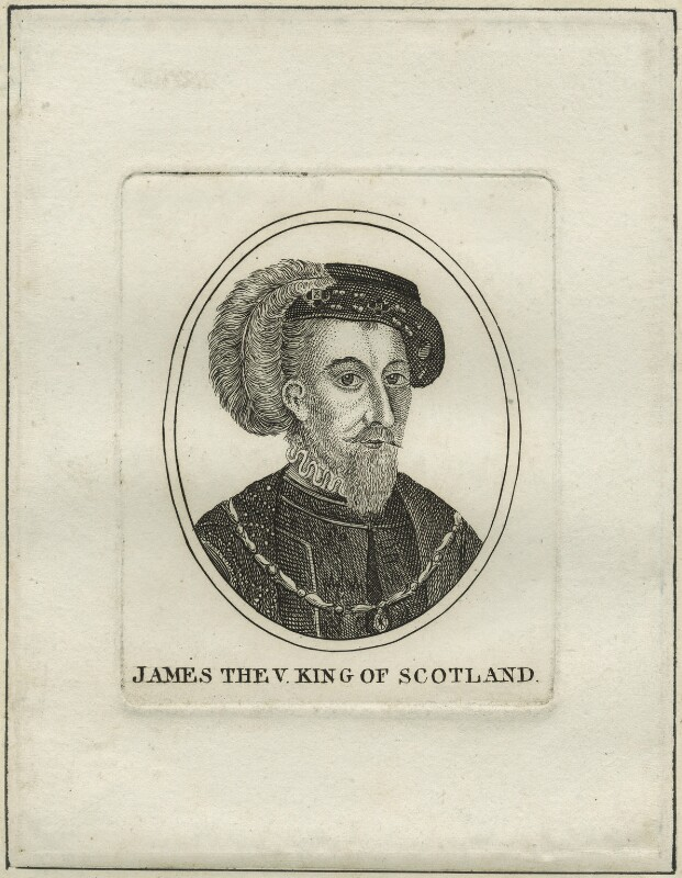 James V of Scotland, after Unknown artist, early 19th century - NPG D24201 - © National Portrait Gallery, London