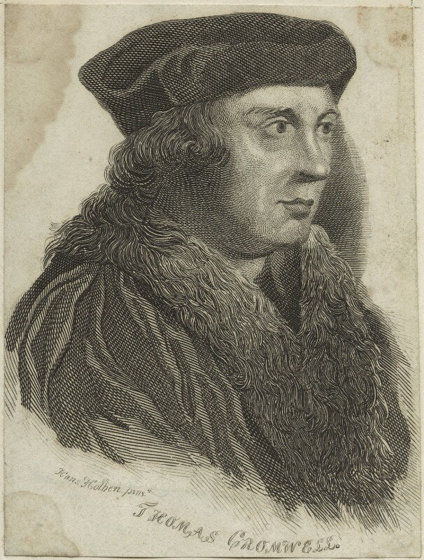 Thomas Cromwell, Earl of Essex, after Hans Holbein the Younger, possibly 18th century - NPG D24212 - © National Portrait Gallery, London